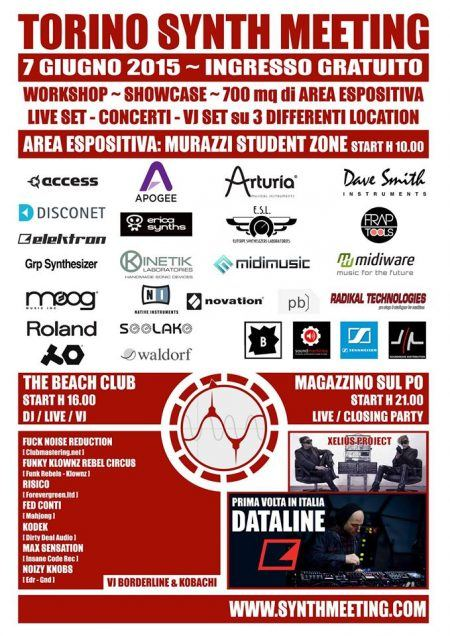 Torino Synth Meeting 7 June, 2015